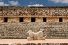 Ruínas do Maya de Uxmal em ucatan, exico Fotografia de Stock Royalty Free