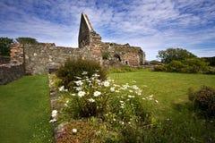 Ruínas do Nunnery de Iona fotografia de stock