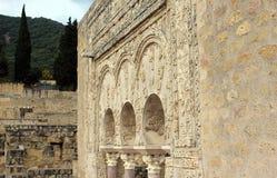 Ruínas do palácio da arqueologia fotos de stock royalty free
