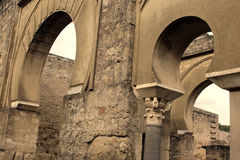 Ruínas do palácio da arqueologia fotos de stock