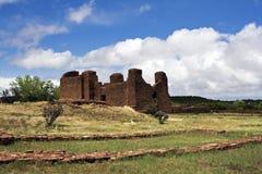 Ruínas do povoado indígeno do Abo Fotografia de Stock