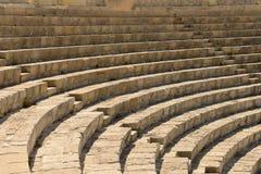 Ruínas do teatro antigo Foto de Stock Royalty Free