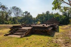 Ruínas do templo fotografia de stock