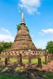 Ruínas do templo budista do stupa ou do chedi Fotografia de Stock Royalty Free