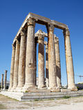 Ruínas do templo do Zeus do olímpico Imagens de Stock Royalty Free