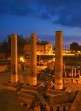 Ruínas do templo em Pozzuoli fotos de stock royalty free