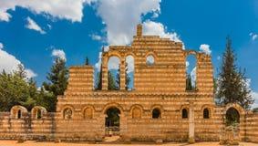 Ruínas do Umayyad Aanjar Anjar Beeka Líbano Imagem de Stock