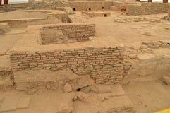 Ruínas dos banhos romanos antigos Imagem de Stock Royalty Free