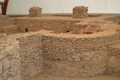 Ruínas dos banhos romanos antigos Imagem de Stock