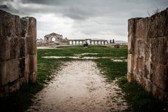 Ruínas dos romanos, Jerash Foto de Stock