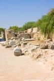 Ruínas dos salames em Chipre do norte Imagens de Stock