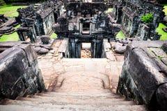 Ruínas dos templos antigos em Angkor Imagem de Stock
