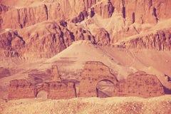 Ruínas egípcias foto de stock royalty free