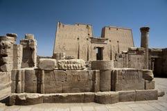 Ruínas egípcias do templo Imagem de Stock Royalty Free