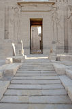 Ruínas egípcias do templo Imagens de Stock Royalty Free