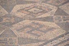 Ruínas em Marrocos de Idris Artifacts Flooring fotografia de stock