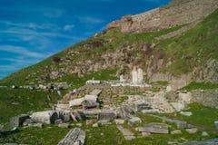Ruínas em Pergamon Imagens de Stock Royalty Free