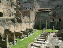 Ruínas em Roma Foto de Stock