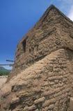 Ruínas espanholas da missão, parque histórico nacional dos Pecos, nanômetro imagem de stock royalty free