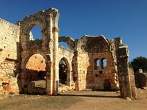 ruínas hatay em Turquia Foto de Stock Royalty Free