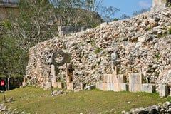 Ruínas maias Fotos de Stock