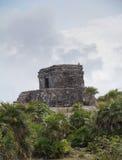 Ruínas maias em Tulum México Fotografia de Stock Royalty Free