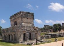 Ruínas maias em Tulum México Foto de Stock Royalty Free
