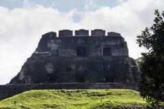 Ruínas maias em Xunatunich, Belize Fotos de Stock