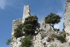 Ruínas medievais do castelo Imagem de Stock