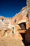 Ruínas medievais do castelo imagens de stock