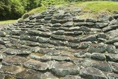 Ruínas misteriosas de Guayabo de Turrialba, Costa Rica foto de stock royalty free