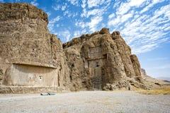 Ruínas na cidade histórica de Persepolis, Shiraz, Irã 12 de setembro de 2016 Fotos de Stock