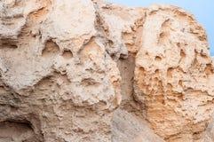 Ruínas na região de AL Wusta de Omã foto de stock