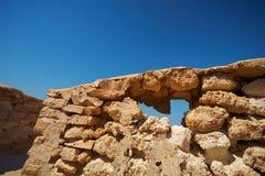Ruínas no deserto Foto de Stock