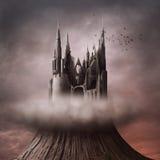 Ruínas no monte Foto de Stock Royalty Free