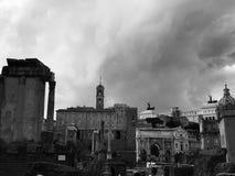 Ruínas no romano do fórum Imagem de Stock Royalty Free