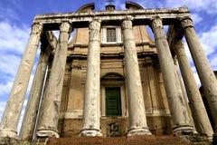 Ruínas romanas Imagem de Stock Royalty Free