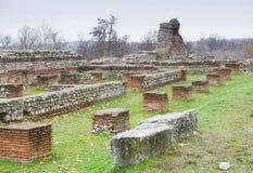 Ruínas romanas Imagem de Stock