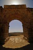 Ruínas romanas de Volubillis Fotografia de Stock Royalty Free