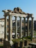Ruínas romanas do fórum Fotografia de Stock