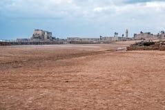 Ruínas romanas em Caesarea Foto de Stock