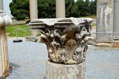 Ruínas romanas em Ephesus, Turquia Imagem de Stock Royalty Free
