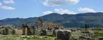 Ruínas romanas em Marrocos Fotos de Stock Royalty Free