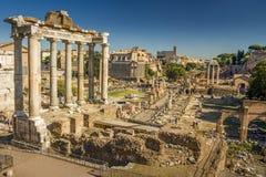 Ruínas romanas em Roma, Italy Fotos de Stock Royalty Free