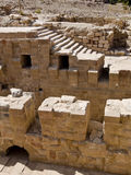 Ruínas romanas, PETRA Jordão Fotografia de Stock