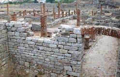 Ruínas romanas portuguesas em Conimbriga fotografia de stock royalty free
