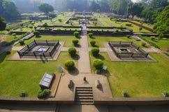 Ruínas, Shaniwar Wada Fortificação histórica construída em 1732 e assento do Peshwas até 1818 Imagem de Stock Royalty Free