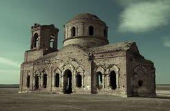 Ruínas velhas da igreja Fotos de Stock Royalty Free