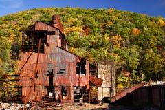 Ruínas velhas da mina imagem de stock royalty free