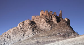 Ruínas velhas do castelo Fotos de Stock
